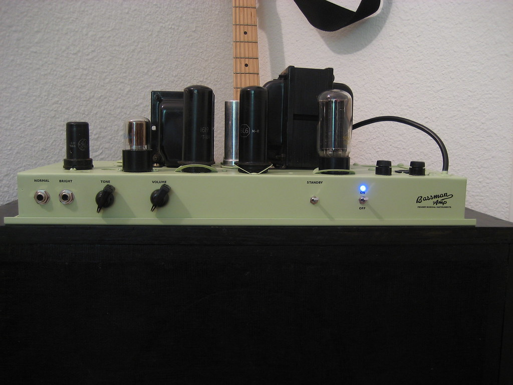 Fender Bassman 5B6 amplifier - Projects - Audio Artillery