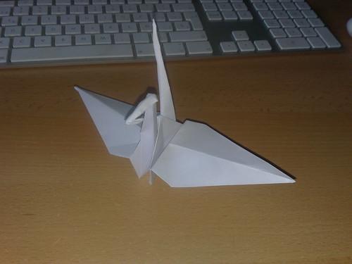 Mi primera pajarita de papel