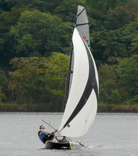 Sailing at Castle semple