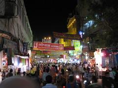 Bazaar leading to Main Ghat - Varanasi