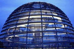 Thank you for more than 30,000 clicks on that photo!  Dome of the Reichstag building - La cúpula del Reichstag - Reichstagskuppel Berlin