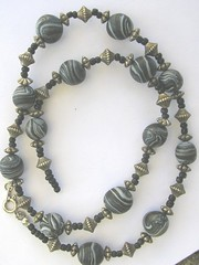Old Marbly Beads