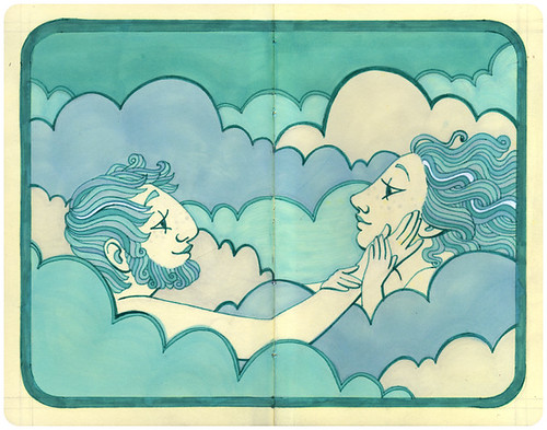 Lovers in Clouds