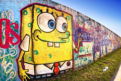 Bob Esponja / Sponge Bob Graffiti (Omar Junior) Tags: street blue sky urban streetart color building muro art texture textura colors rio azul wall buildings cores graffiti grande avenida mural colorful paint arte pentax painted graf cartoon bob murals portoalegre style dia spray porto spongebob junior spraypaint das graffito graff esponja toon arvore alegre sponge scratched omar crianas criancas mapping poa rs cor ceu tone maua riograndedosul hdr desenho sul parede pentaxistd mapped squarepants grafite marked quadrada rgs cala photomatix grf scrawled graffitibrasileiro graffitifotos