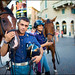 Mounted Police in Verona (summer 2008) by Salvatore Falcone