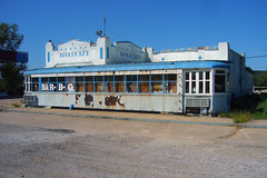 Trolly  373, Gordon, Texas (Country Squire) Tags: abandoned restaurant cafe trolley tx bbq gordon derelict