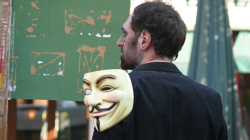 Anonymous Operation Day of the lulzing Dead on October 18 in Munich, Germany