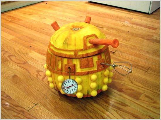Pumpkin robot
