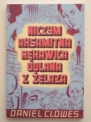Like a Velvet Glove Cast in Iron by Daniel Clowes - Polish edition