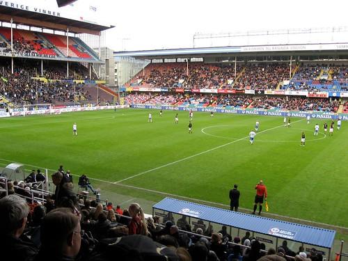 Fotbol in action