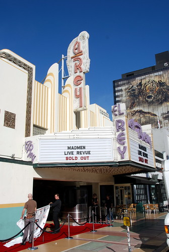 El Rey Theater, W. Cliff Balch, Architect 1936 by Michael Locke
