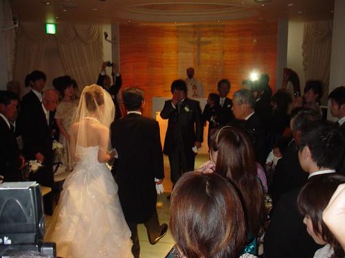 釜坂結婚式 挙式から涙