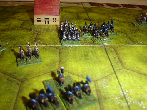 Prussian cavalry continues successful attack