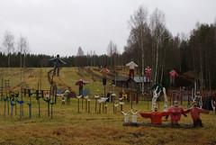Contemporary folk art in Suonenjoki, Eastern Finland (aaluva) Tags: finland folkart suonenjoki contemporaryfolkart easternfinland itsuomi kutumki niilorytknen