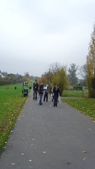 The long slog across Lordship Rec (the science floor) Tags: ecology first tottenham investigation btec