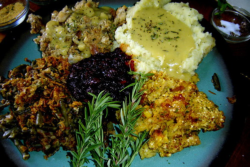 vegan thanksgiving feast