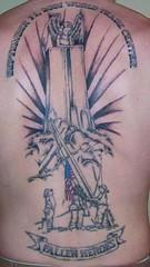Star power metal tattoo angel