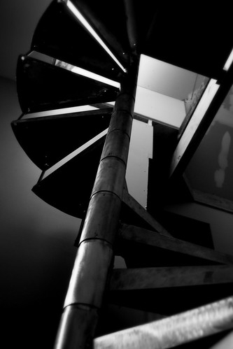 S = spiral stairs