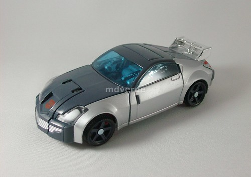 Transformers Streak Henkei (Silverstreak) - modo alterno (by mdverde)
