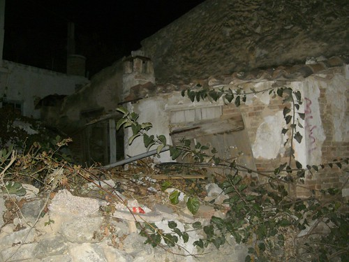 ruins of house hania chania