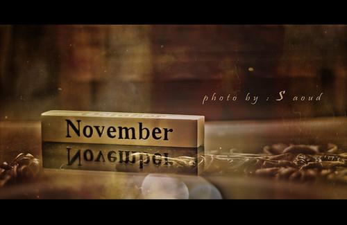 its   november ... <3
