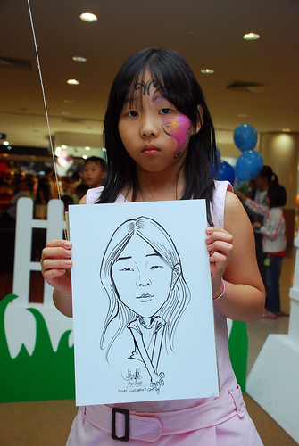 caricature live sketching for West Coast Plaza day 1 - 32