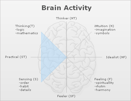 my brain activity while blogging