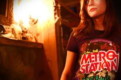 Miranda[Metro Station] (Hieu Minh) Tags: station shirt metro band miranda