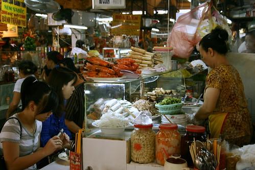 Ben Thanh- food stalls