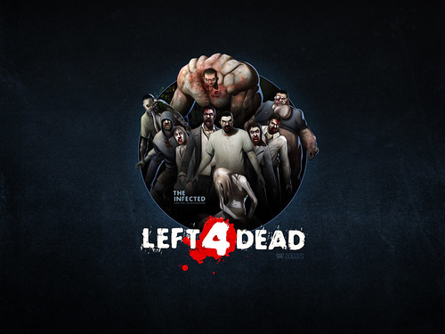 Left 4 Dead infectados