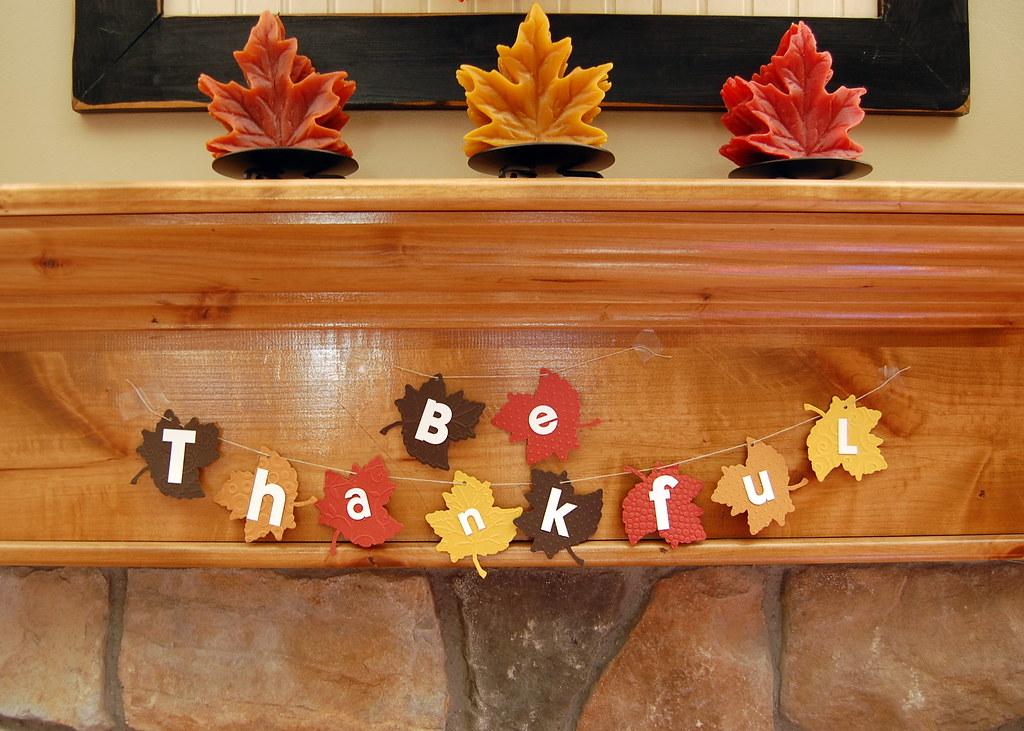 DIY Thanksgiving Banner | NoBiggie.net