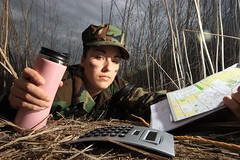 navy_0065 (rvallentyne) Tags: park pink light portrait green girl robin speed canon cub woods women uniform map navy off trail e calculator rop vallentyne osf 580flash seedlight mark111 camiflose photosbyrobinvallentyne robinvallentyne