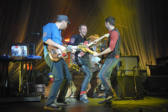 Coldplay performs for Nissan Live Sets on Yahoo! Music