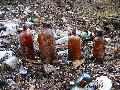 Flickriver: Photoset 'Bottle Digging and dump rummaging' by ...