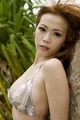 DSC003740043 (montoyasg) Tags: portrait people beach beauty model singapore sony jacqueline babe bikini sue alpha sentosa 2008 palawan jac