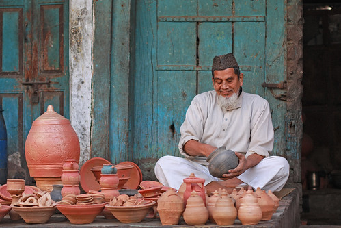 Muslim Pot Maker, Gujarat