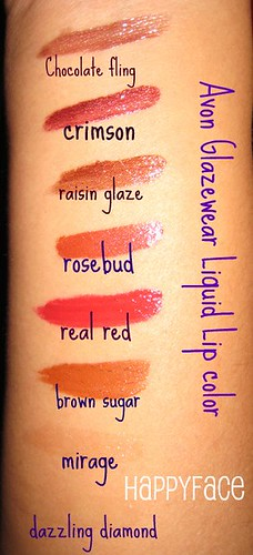 avon glazewear liquid lip color