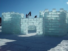 2009 Ice Castle under construction (aeroshark1) Tags: