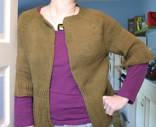 090313. diminishing rib cardigan, pre-buttons.