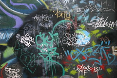 paeday, topest, cream, phaze, rgue, silence, 4sho, wrecked, god, terk? tfl, some stuff i can't read (criminal misschief) Tags: cream sanfranciscograffiti phaze topest paeday