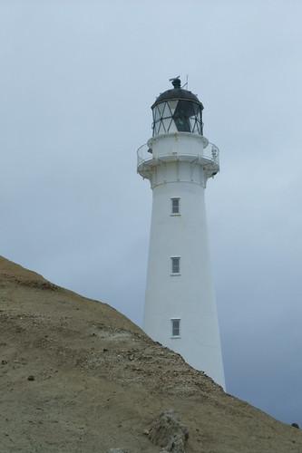 lighthouse at Castle Point, NZ
