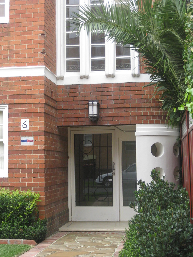 Entrance to an Art Deco Block of Flats - East Melbourne
