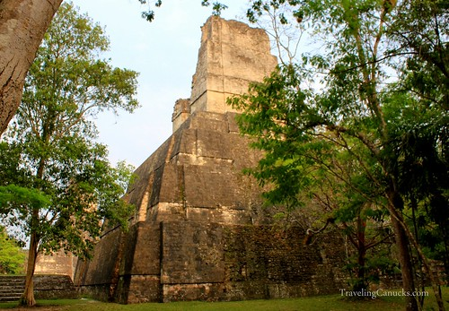 Temple 2 in the Gran Plaza, Tikal National Park