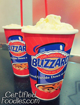 Our DQ Blizzards - 16oz each! Waddup!! LOL - CertifiedFoodies.com