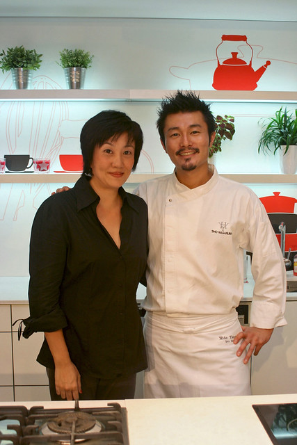 With Chef Sho Naganuma at AFC Studio