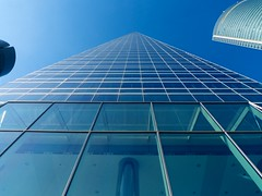 La Torre de Cristal (Min Master) Tags: madrid sky tower glass vanishingpoint torre cielo infinito cristal infinite puntodefuga businessarea cuatrotorres areadenegocios