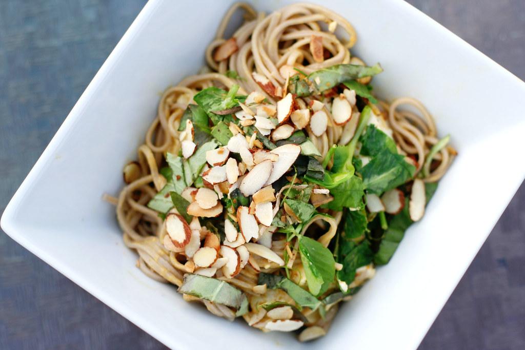 Almond Soba Noodles