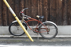 Old Schwinn in Kyoto