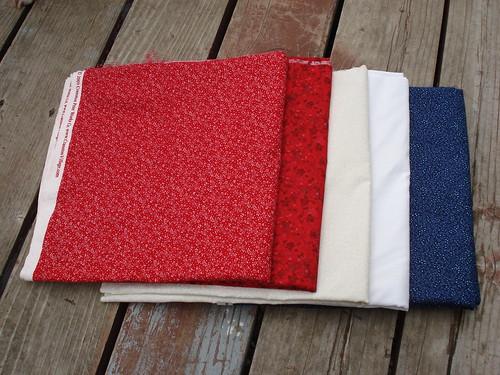 Zig Zag Quilt-a-long Fabrics