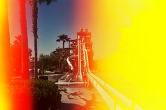 (diimmortales~) Tags: california film swim magicmountain sixflags waterslide waterparks sundamage hurricaneharbor